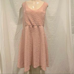 Torrid sleeveless pink dress Size 3